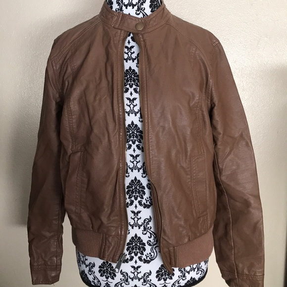 Old Navy Jackets & Blazers - Old Navy Leather Jacket